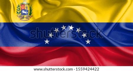 Zászló Venezuela USA fehér izolált 3D Stock fotó © ISerg