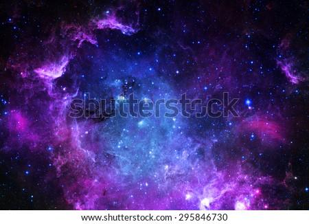 галактики туманность пространстве Элементы изображение аннотация Сток-фото © NASA_images
