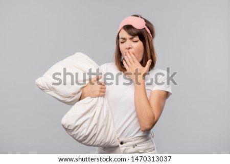 若い女性 マスク 小さな ブルネット ストックフォト © pressmaster
