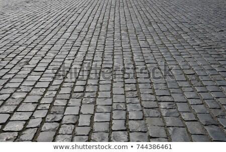Résumé vieux pavés trottoir texture Photo stock © ruslanshramko
