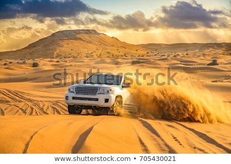 Rally sivatag négy kerék motorbicikli sportok Stock fotó © nomadsoul1