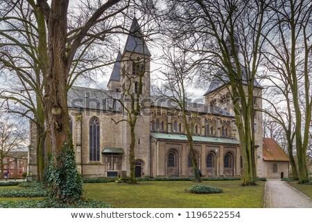 St. Mauritz church, Munster, Germany Stock photo © borisb17