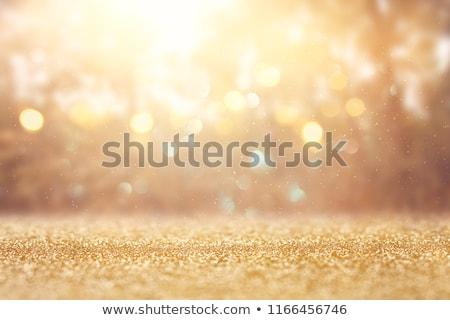 Lumières flare or bokeh résumé Photo stock © SArts
