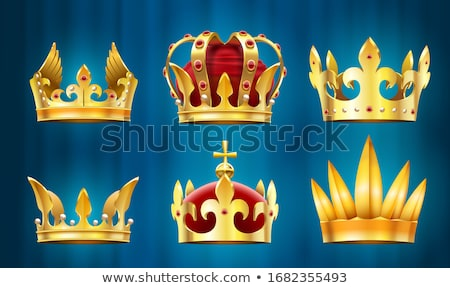 Royal Crown Decorated with Gemstone Precious Gem Stock photo © robuart