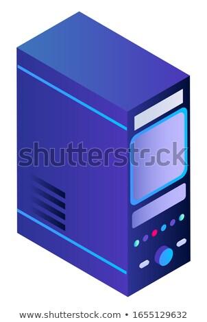 Akıllı ev bilgisayar birim uzaktan kumanda donanım Stok fotoğraf © robuart