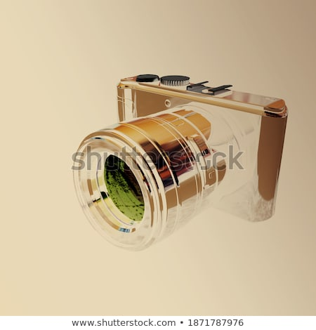 Design gráfico câmera cor textura quadro filme Foto stock © yupiramos