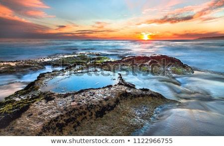 Rocks in Tidepool Stock photo © craig