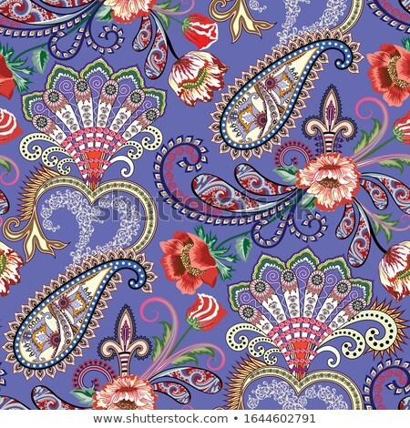 かぎ針編み · パターン · 色 · 繊維 - ストックフォト © ruslanomega