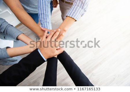 unity multiracial  business hands Stock photo © poco_bw
