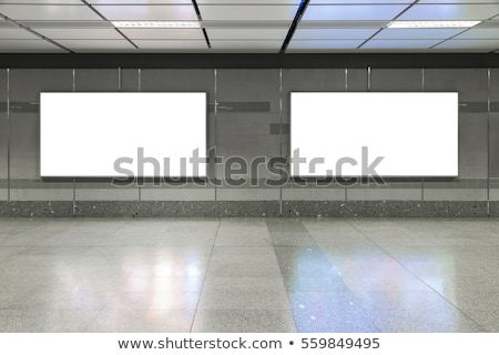 hal · metro · station · business · muur · mannen - stockfoto © Paha_L