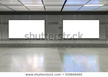 Zdjęcia stock: Sali · metra · stacja · działalności · ściany · mężczyzn