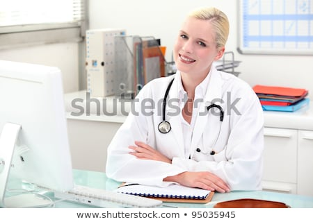 Medical secretary and general practitioner Stock photo © photography33