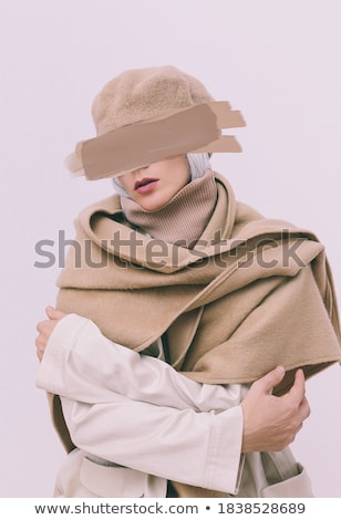 models in warm clothes stock photo © zastavkin