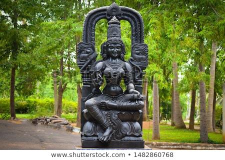 Escultura guardião templo fachada adorar deus Foto stock © smithore