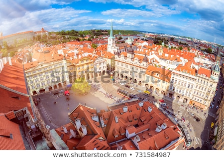 Praga piazza chiesa costruzione città urbana Foto d'archivio © photocreo