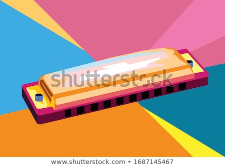 harmonica stock photo © elly_l