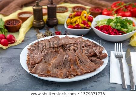 турецкий кебаб мяса куриные Сток-фото © HypnoCreative