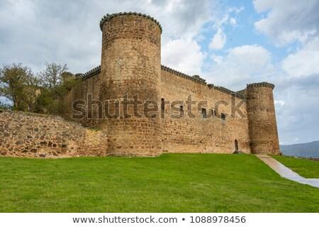 taş · duvar · taş · kale · duvar - stok fotoğraf © Kacpura
