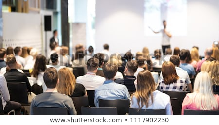 meet the press stock photo © stocksnapper