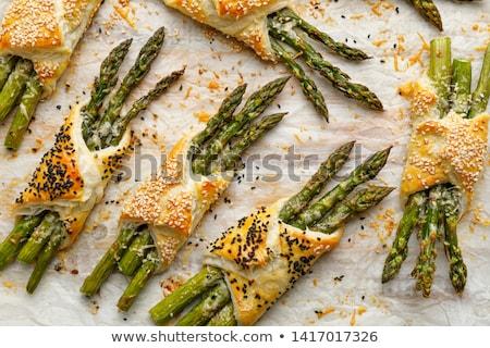 フランス語 ペストリー 食品 朝食 デザート 新鮮な ストックフォト © M-studio