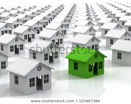 Ev fiyatlar aşağı fiyat çubuk grafik veri Stok fotoğraf © mscottparkin