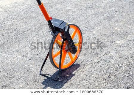 колесо белый назад изолированный никто оборудование Сток-фото © prill