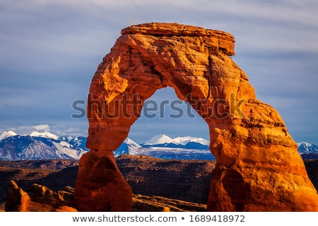 Park la bergen Utah USA landschap Stockfoto © phbcz