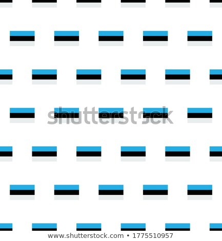Image of heart with flag of Estonia Stock photo © perysty