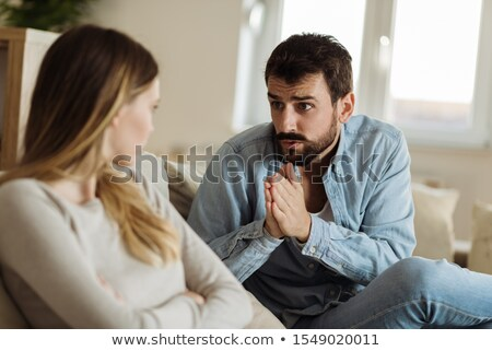 Young man pleading Stock photo © photography33
