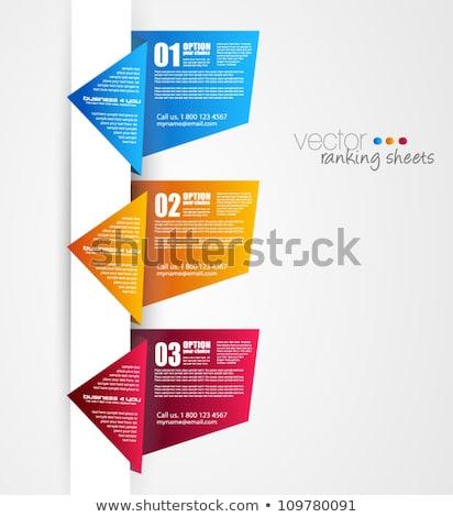 紙 スタイル ランキング 要素 本当の 折り紙 ストックフォト © DavidArts