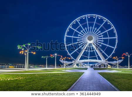 amusement park in baku azerbaijan Stock photo © travelphotography