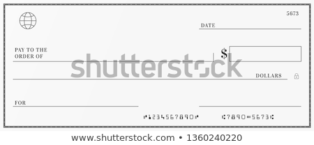 bank check stock photo © oblachko