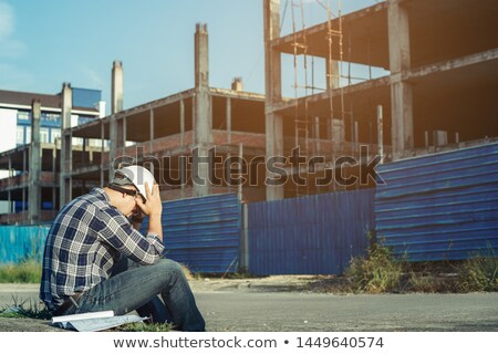 An overwhelmed engineer Stock photo © photography33