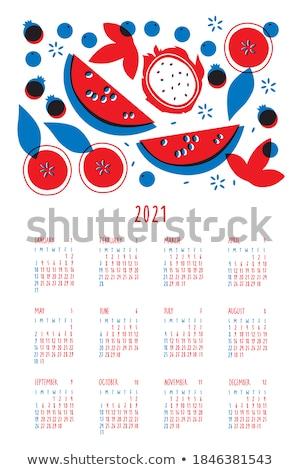 12 piros fehér rózsaszín sárkány friss Stock fotó © LianeM