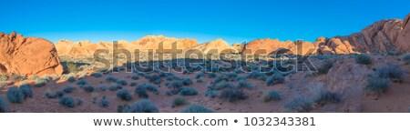 Berge Las Vegas Nevada USA Landschaft Schnee Stock foto © phbcz