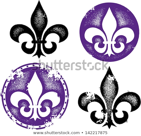 fleur de lis orleans symbol stock photo © creative_stock