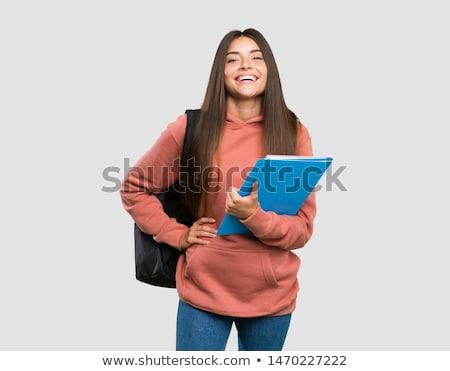 magnifico · giovani · studente · donna - foto d'archivio © lithian
