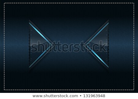 Stitched Textile and sparks theme background template Stock photo © maxmitzu
