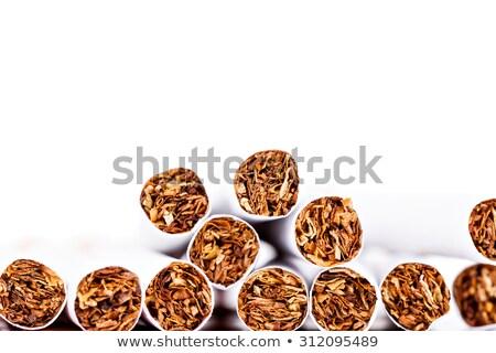 Close up of a cigarette against a white background Stock photo © wavebreak_media