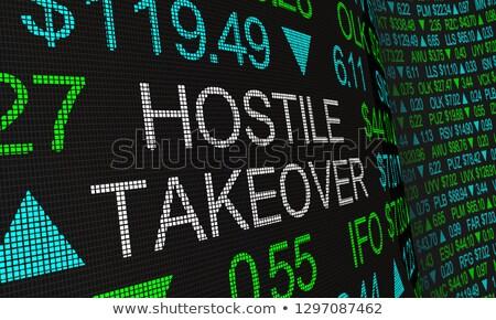 Hostile takeover Stock photo © Lightsource