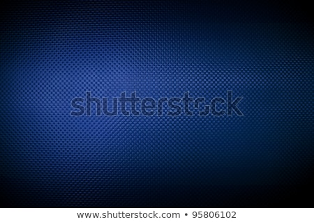 Metallic net with blue background stock photo © ifeelstock