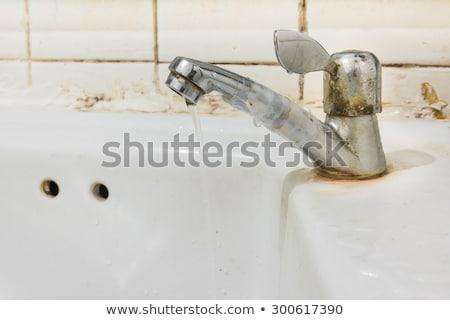 banyo · çatı · katı · ayna · ışık · pencere · tuvalet - stok fotoğraf © marfot