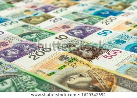 polish banknotes background stock photo © kuligssen