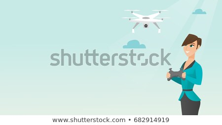 remote controlled drone aircraft Stock photo © patrimonio
