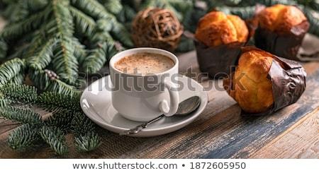 вкусный Sweet горячей ароматический эспрессо Сток-фото © juniart