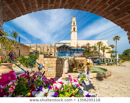 square in jaffa tel aviv israel Stock photo © travelphotography