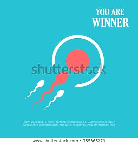 winning sperm stock photo © lightsource