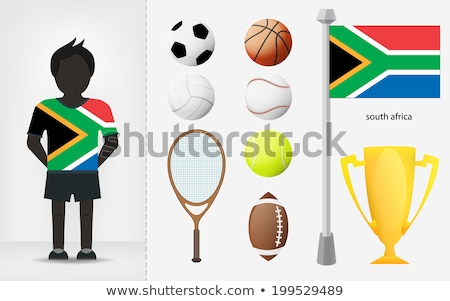 South African Volleyball Team Stock photo © bosphorus