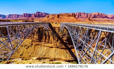 Edad puente Colorado mármol canón río Foto stock © meinzahn