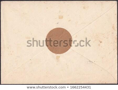 öreg rongyos boríték szakadt divat háttér Stock fotó © OlgaDrozd